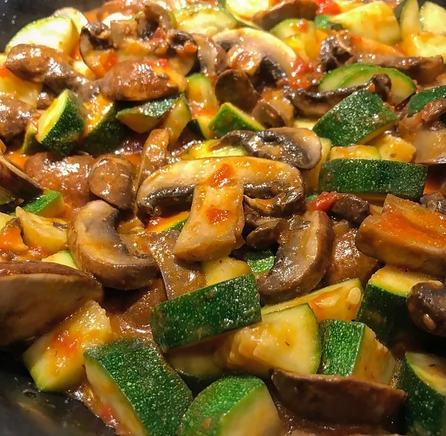 zucchini and mushrooms 3